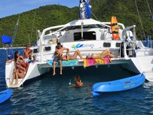 Catamaran sailing vacations are boat loads of fun!