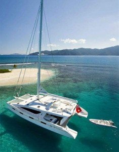 rent a private catamaran yacht