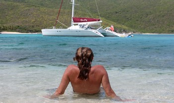 british virgin islands catamaran sailing vacation charter
