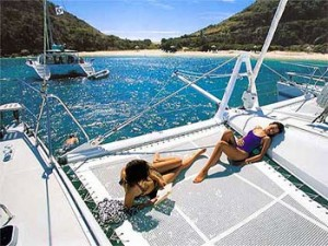 Catamaran Sailing Vacations in the BVI