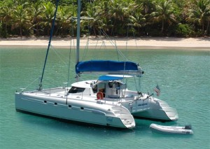 fully crewed catamaran sailing vacation charters