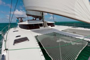 Caribbean catamaran charter vacations with captain and cook