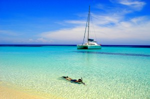 Caribbean sailing vacations on a catamaran