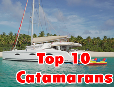 Top 10 Caribbean Catamarans